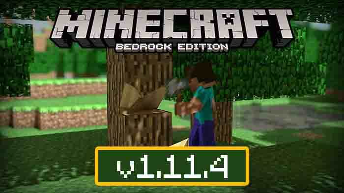 Download Minecraft Pe 1 11 4 For Android Minecraft Bedrock 1 11 4