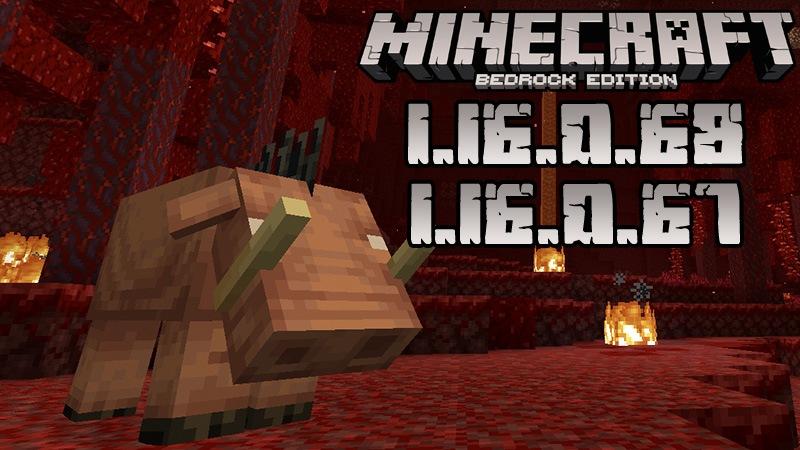 Download Minecraft Pocket Edition 1 16 0 68 And 1 16 0 67 Nether Update Beta Version